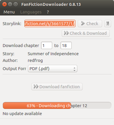 Fanfiction.net stories pdf from
